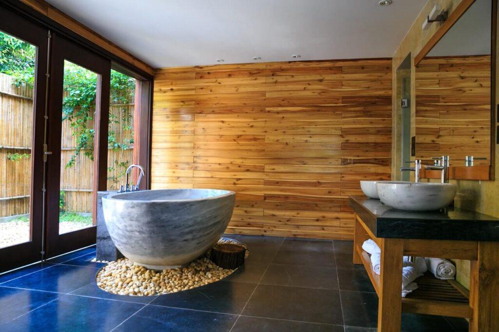 Meble Do łazienki Z Drewna Pomysły Na Aranżacje