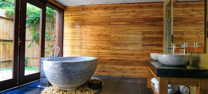 Meble do łazienki z drewna – pomysły na aranżacje
